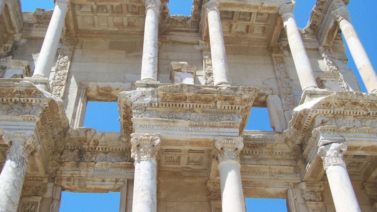 Ephesus Turkey - Library of Celsus