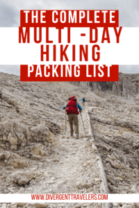 40 Hiking Essentials: The Ultimate Hiking Packing List Pinterest Pin