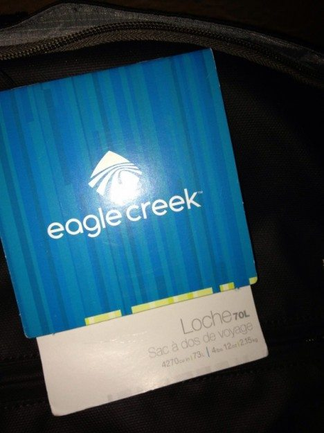 Eagle Creek Loche 70L
