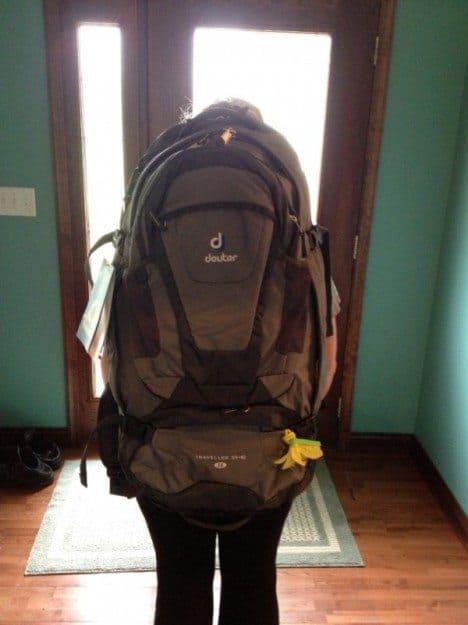 rucksack 55l test