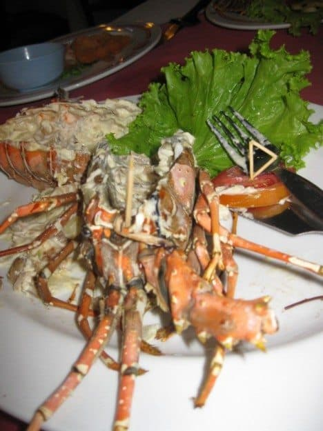 stuffed lobster Patong Seafood
