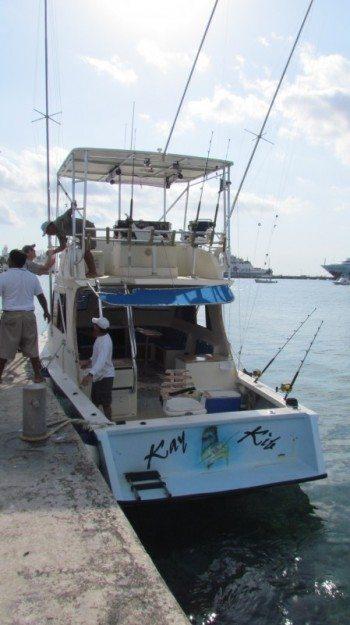 deep sea fishing in Cozumel