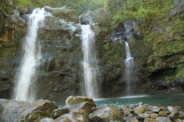 Road to Hana Upper Waikani Falls Maui- Divergent Travelers