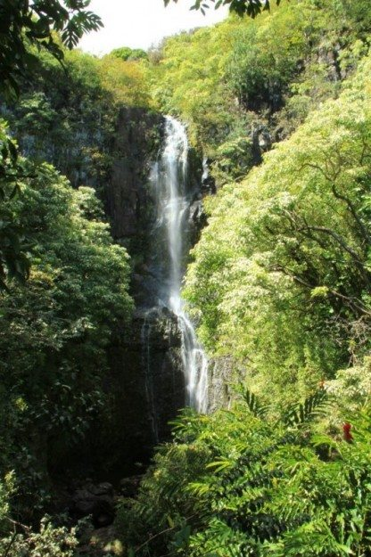 Road to Hana Wailua Falls Maui- Divergent Travelers