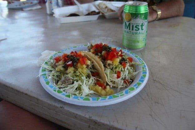 Road to Hana Braddah Hut Roadside BBQ Maui Fish Tacos