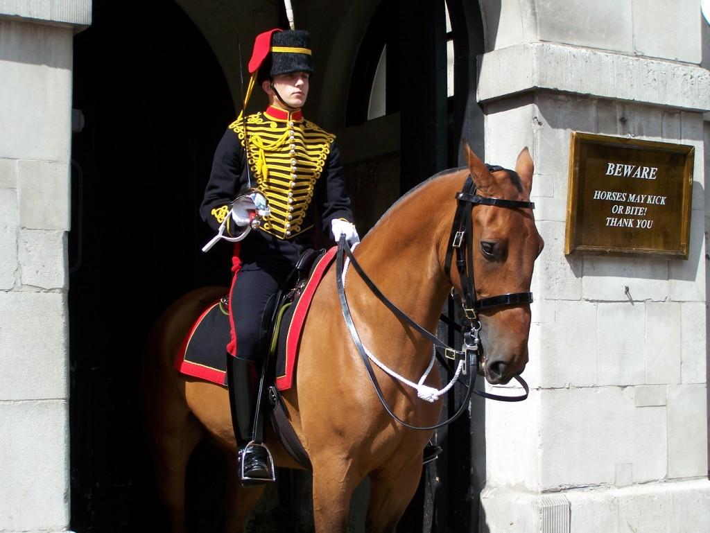 London England Horse Guards