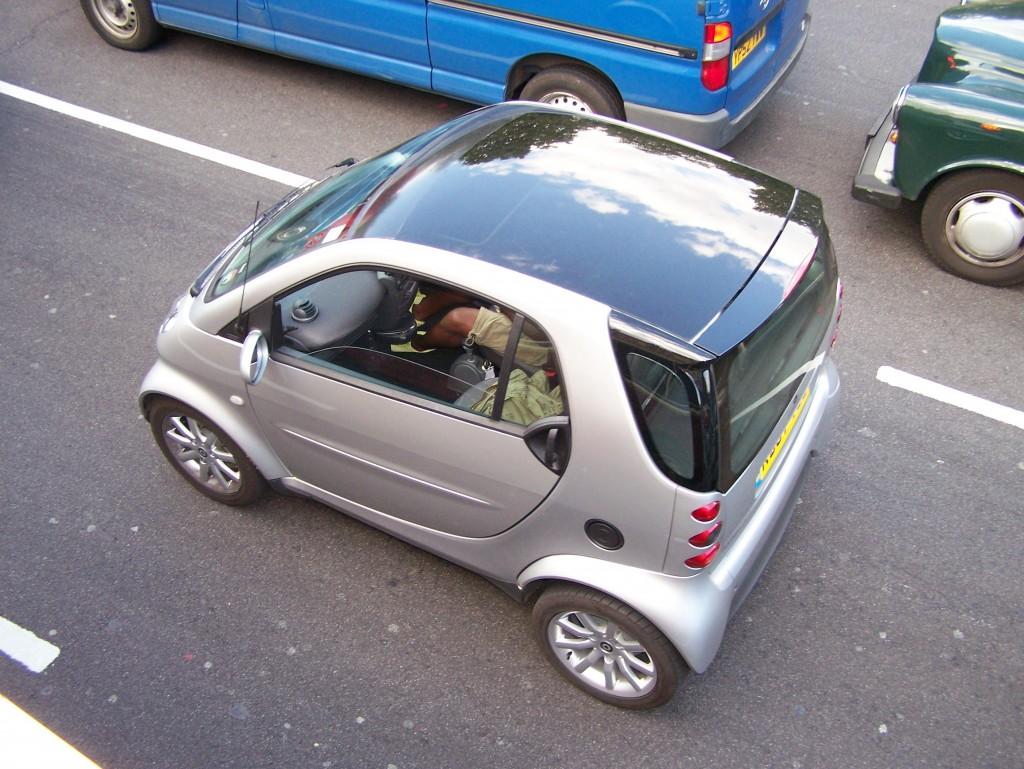 London England Smart Car