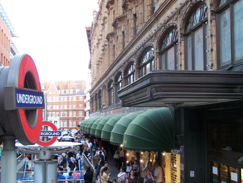 London Englad Harrods