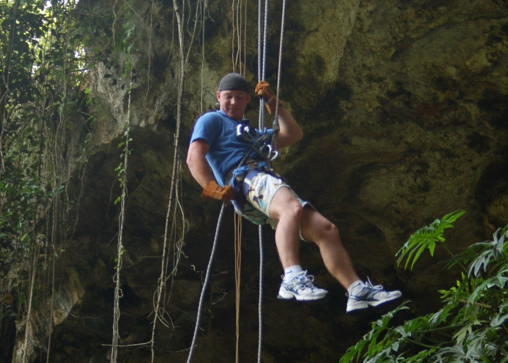 Cliff Rappeling Mexico