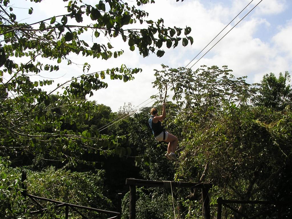 Zip Lining Mexico