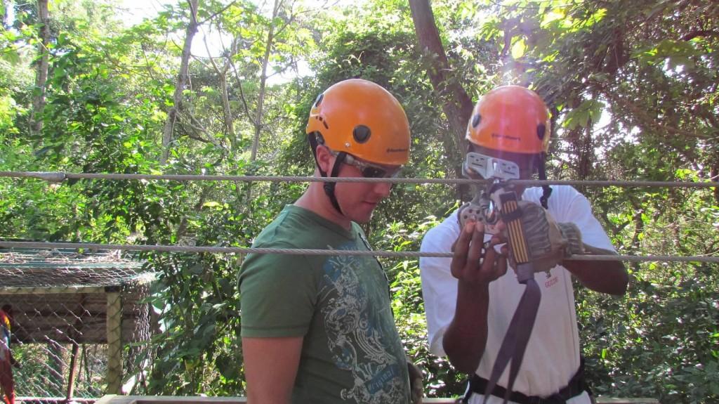 Zip Lining Honduras