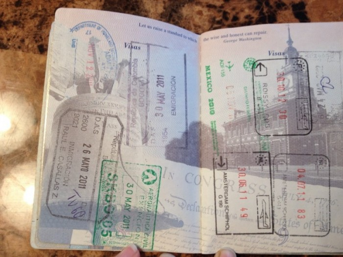 Paying Homage To Our Old Passports