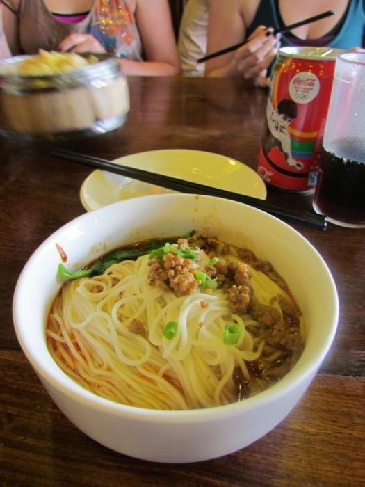 Beijing Food Pork Noodles