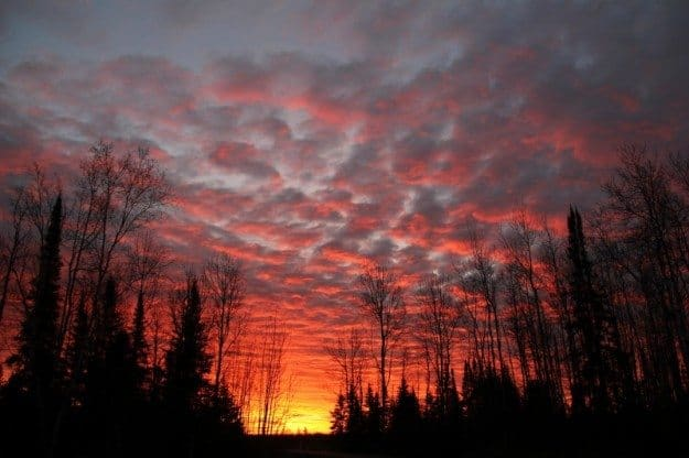 Sunrise Sunset Wisconsin
