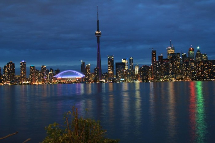Year in Review Toronto Skyline