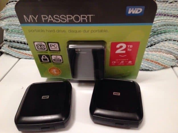 RTW Electronics WD Passport