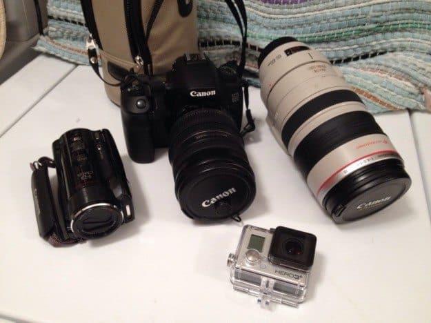 RTW Electronics Canon GoPro