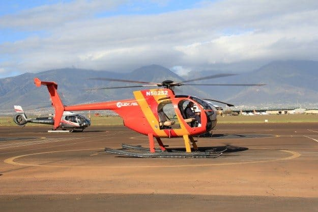 Maui Doors Off Helicopter