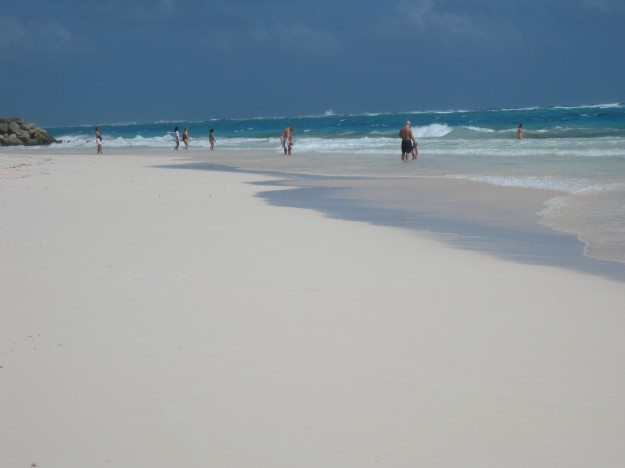 Caribbean Barbados Crane Beach