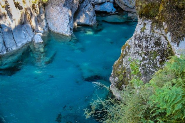 Blue Pools Haast New Zealand
