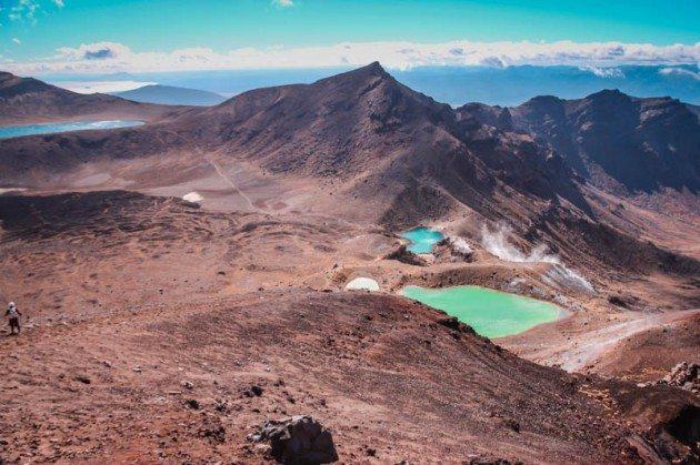 Tongariro Crossing - Emerald Pools
