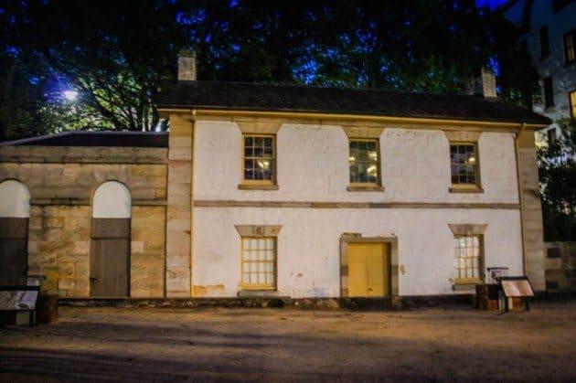 The Rocks Sydney Cadmans Cottage