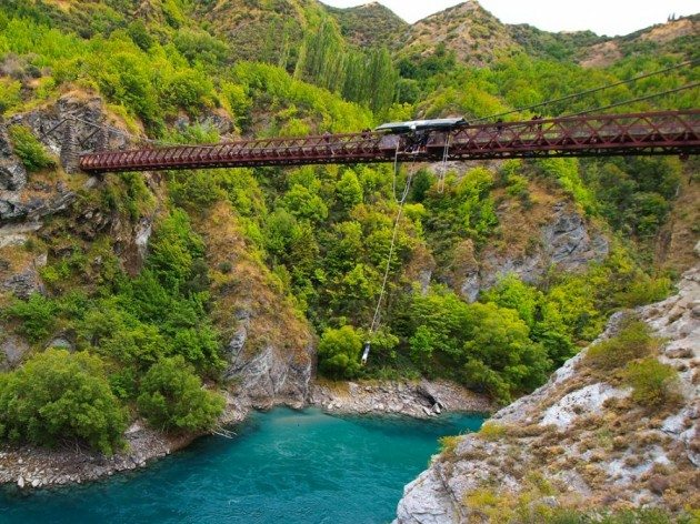 Queenstown Bungy Jumping New Zealand
