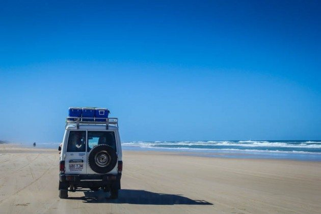 Fraser Island Beach Highway