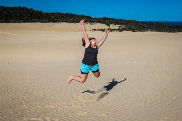 Fraser Island Lake Wabby