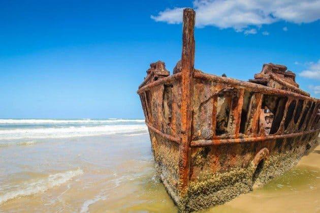Fraser Island Maheno Shipweck