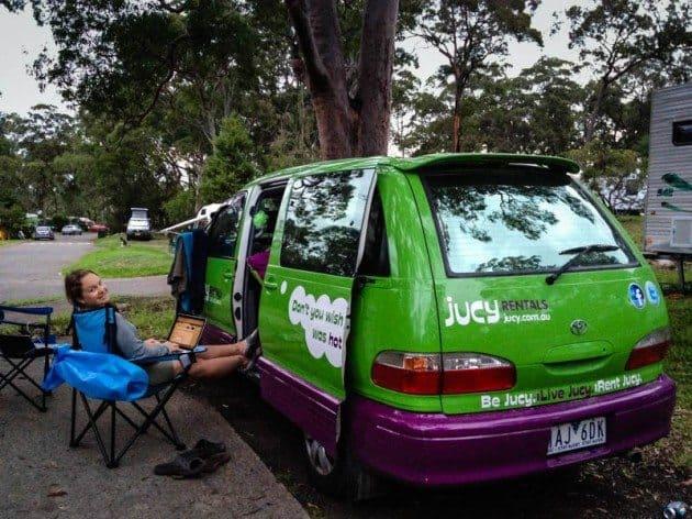 Jucy Campervan Australia