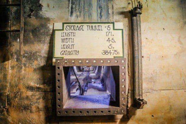 WWII Oil Storage Tunnels Darwin, Australia
