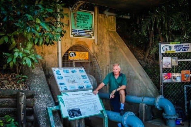 WWII Storage Tunnels Darwin Australia