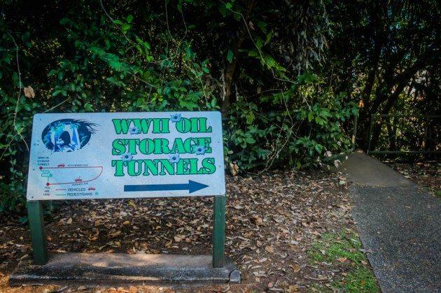 WWII Oil Tunnels Darwin Australia
