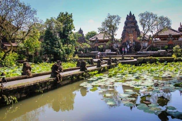 Water Palace Ubud Bali Indonesia