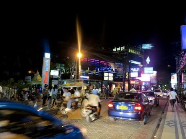 Culture Shock Bali Kuta at night