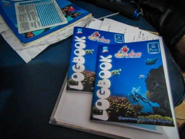 PADI Open Water Scuba Diving Gili Trawangan DSM Dive