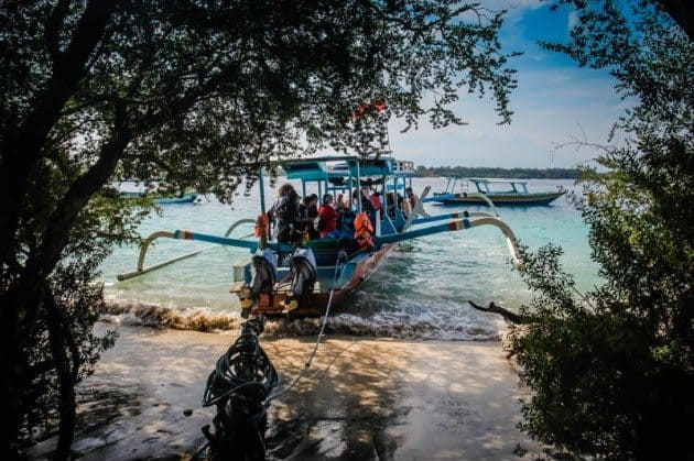 PADI Open Water Scuba Diving Gili Trawangan