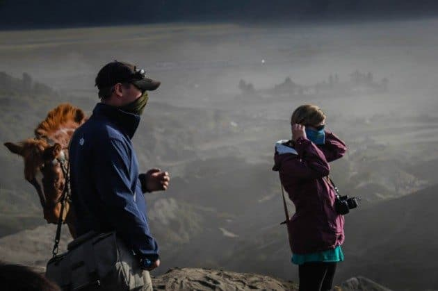 Mount Bromo Crater Indonesia