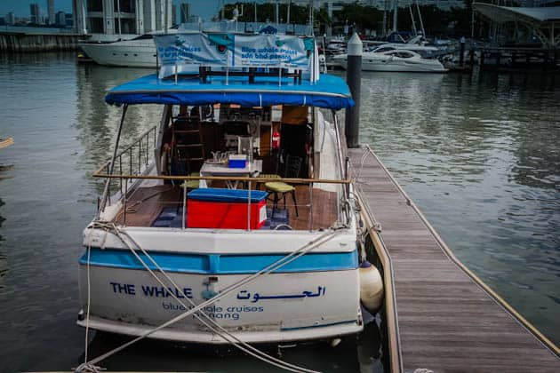 Penang Blue Whale Dinner Cruise Malaysia