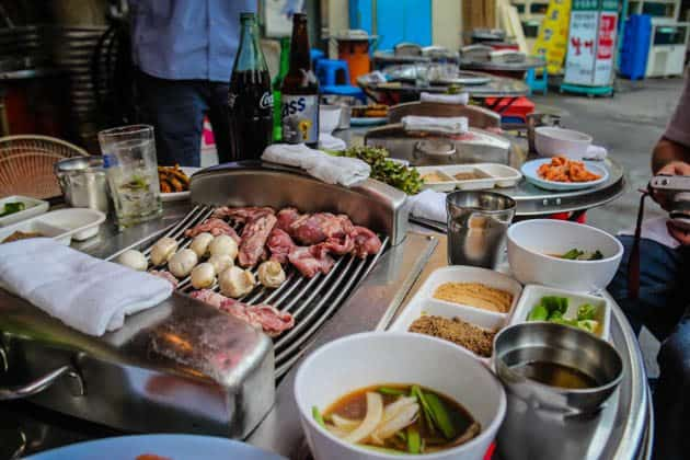 O'ngo Food Tours Adventure Korean BBQ