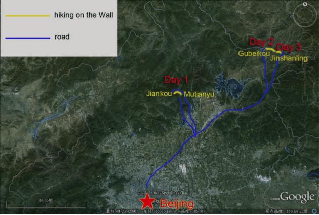 Great Wall Hiking Jiankou Mutianyu Gubeikou Jinshanling Simatai