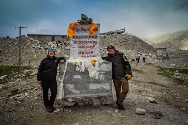 Mount Everest Base Camp Tibet Divergent Travelers RTW