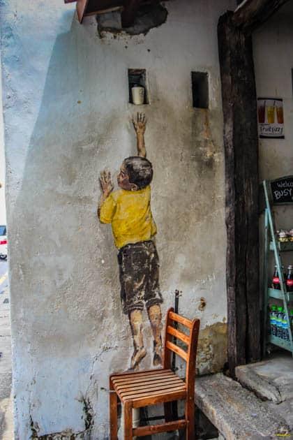 Georgetown Street Art Penang Malaysia