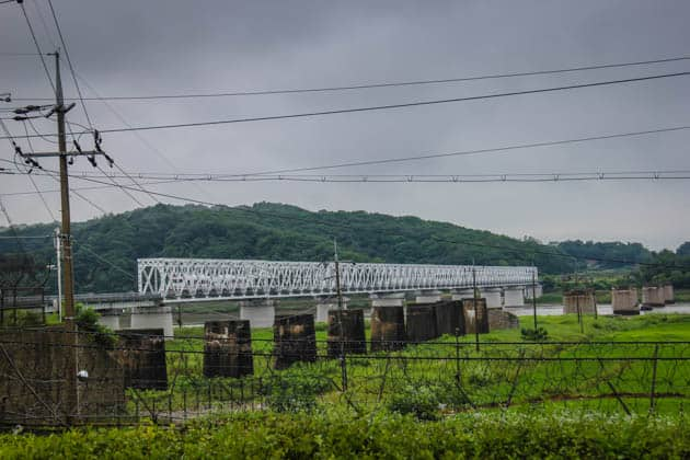 Freedom Bridge DMZ South Korea