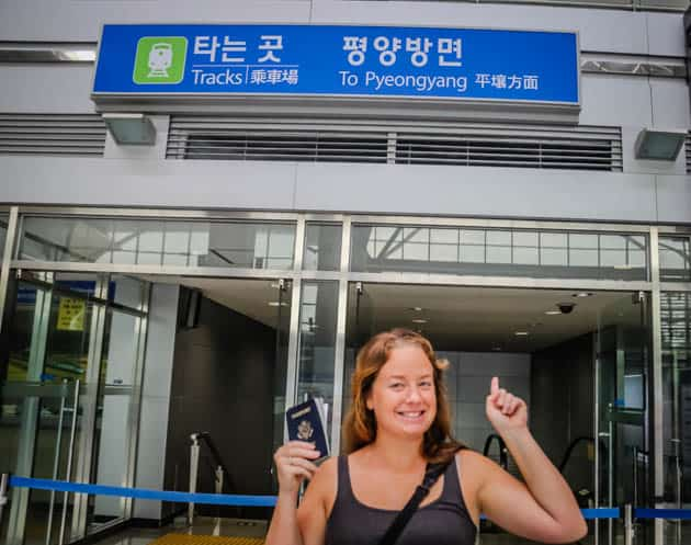 Dorasan Station DMZ South Korea Divergent Travelers