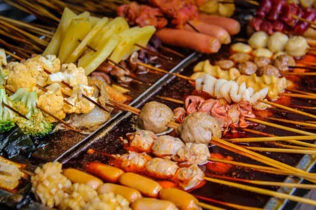 Discover Beijing Food Adventure Tour Ma La tong Street BBQ