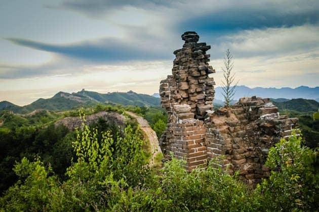 Great Wall Hiking Gubeikou to Jinshanling Divergent Travelers