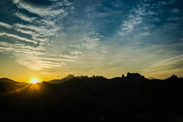 Great Wall Jinshanling Sunrise Divergent Travelers