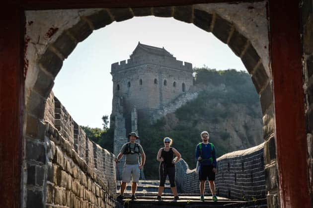 Great Wall Hiking Jinshanling Divergent Travelers